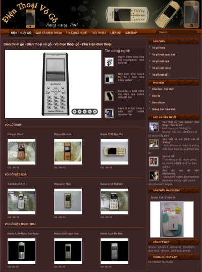 dienthoaigo.com - Điện thoại gỗ