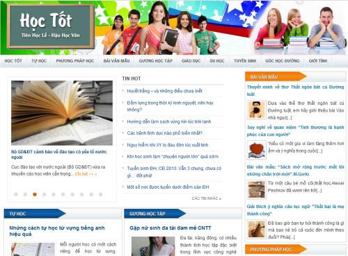 Tên miền Học tốt - hoctot.com