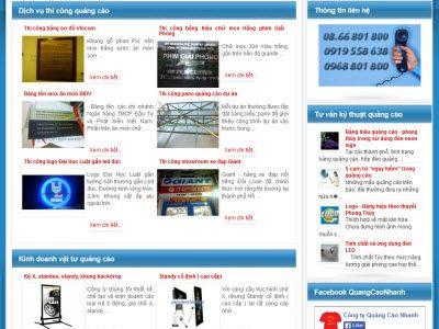 QuangCaoNhanh.com - Đi lên từ bàn tay trắng