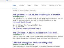 Tên miền đẹp có tỷ lệ click cao nhất từ Google